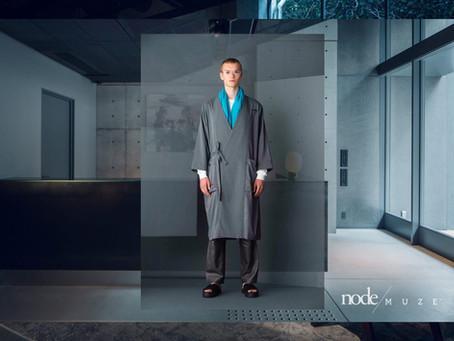 2019年7月、京都の中心エリアにオープンした「node hotel」のルームウエアのデザインを行いましアパレルブランド[MUZE]とnode hotelのルームウエアのディレクションを行いました。