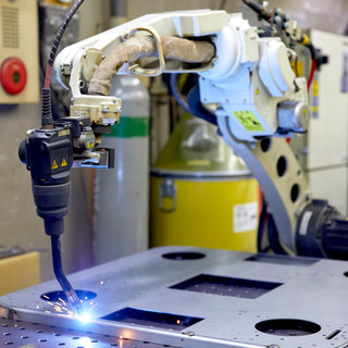 6.ロボット溶接加工