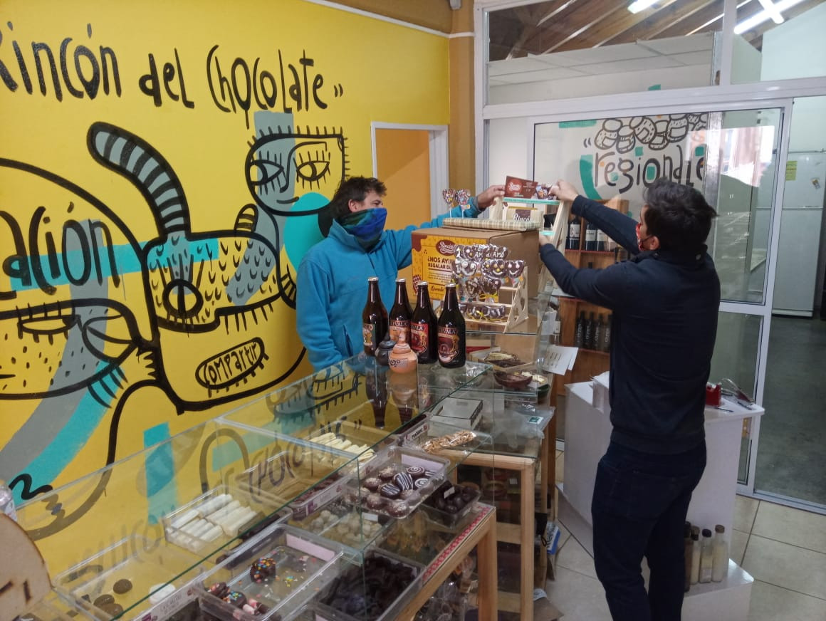 Rincón del Chocolate Sala de exposición