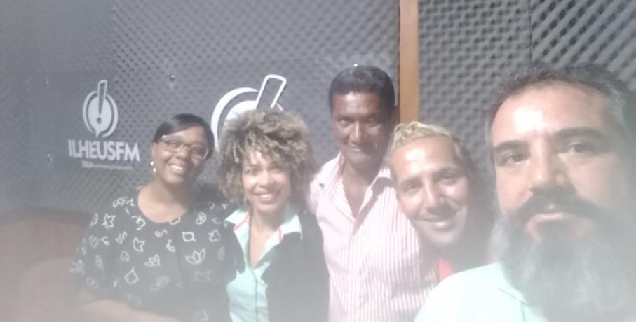 Entrevista para a Rádio Ilhéus FM