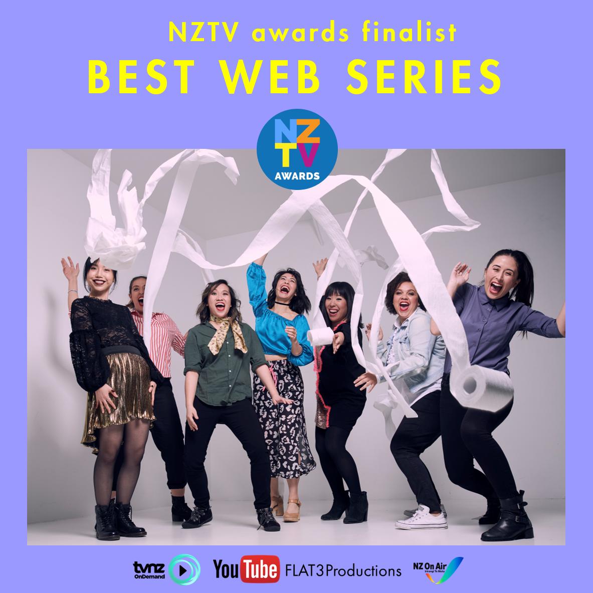 NZTV Awards Finalist, 2018