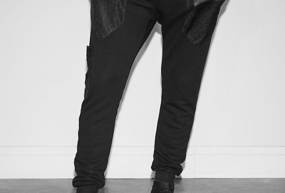 Black Slim-Fit Trousers