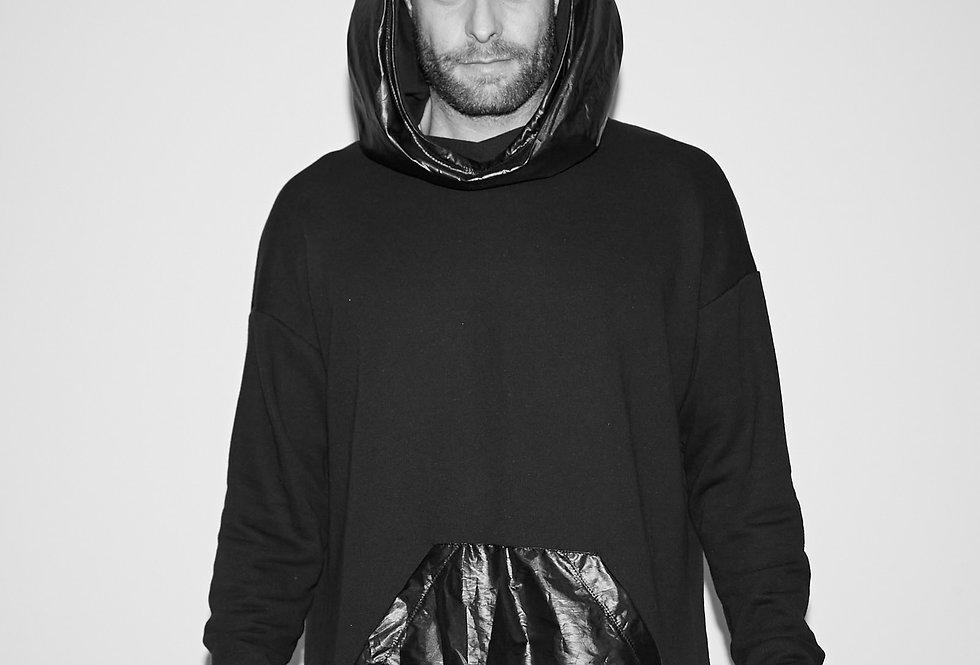 Black Kangaroo Sweatshirt