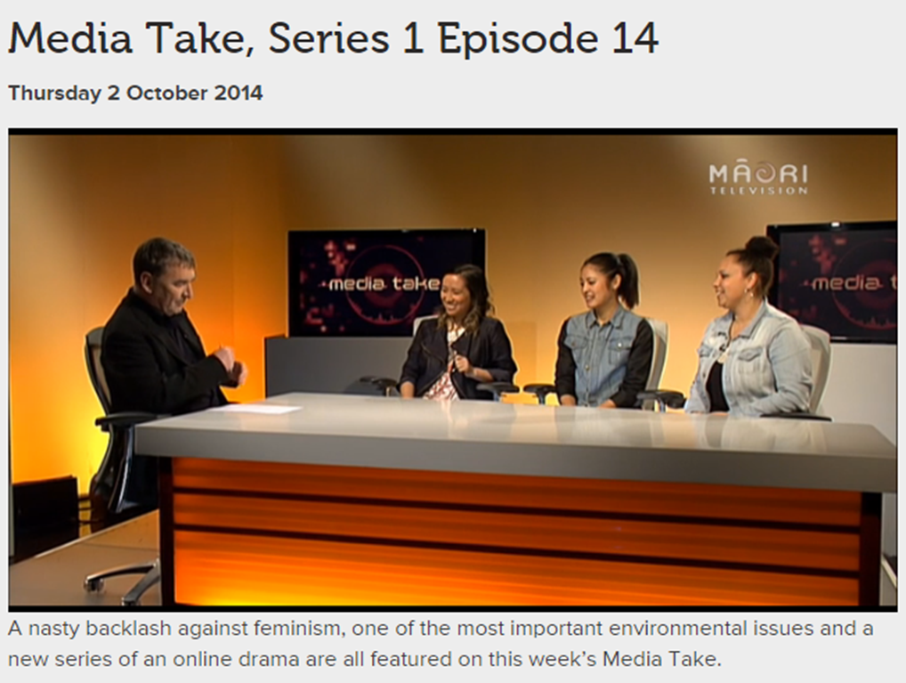 Media Take Interview, 2014
