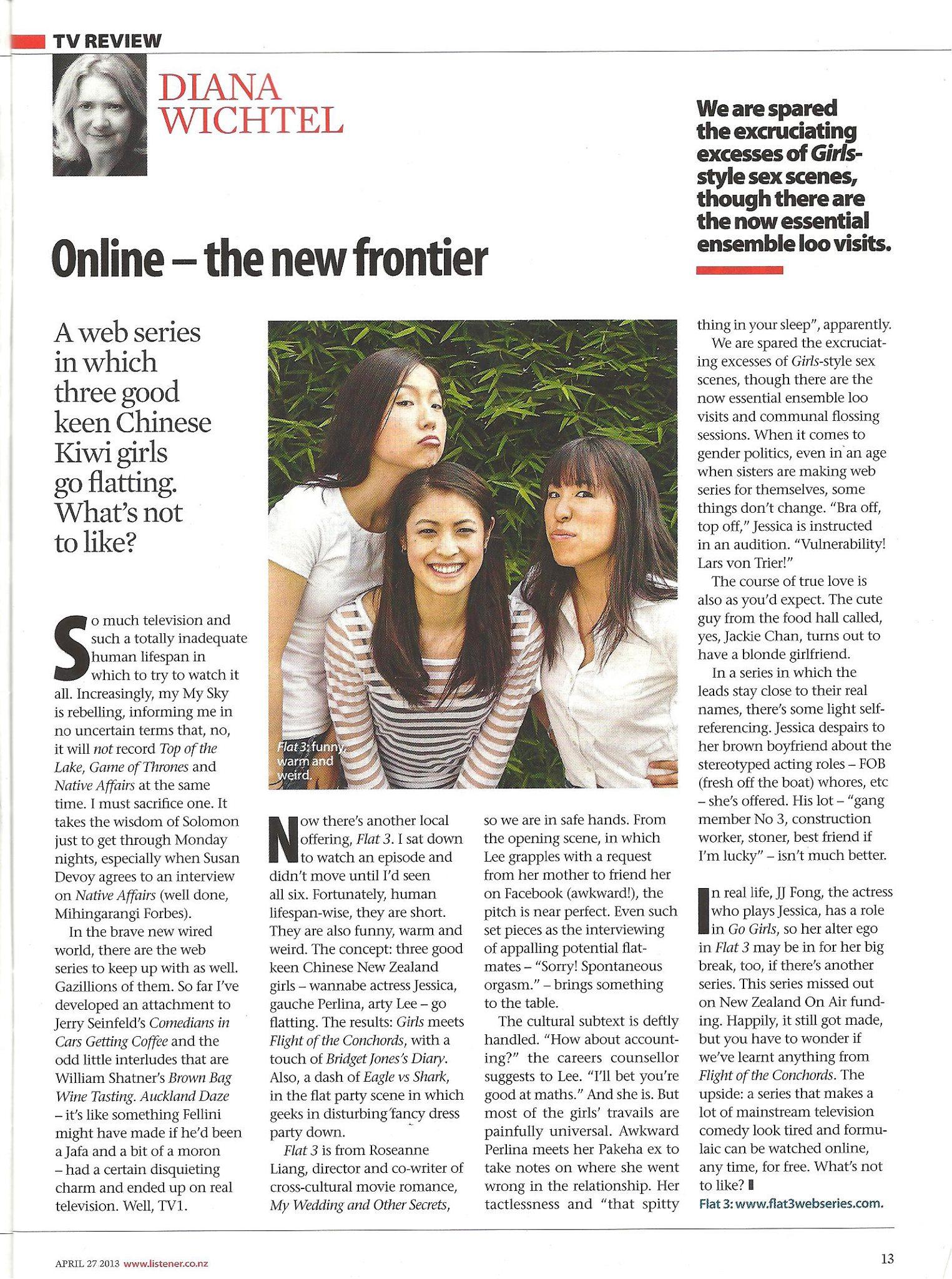 The Listener, April 2013