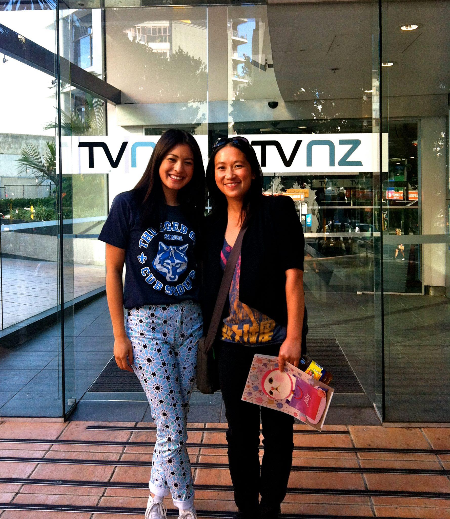 Seven Sharp TV Interview