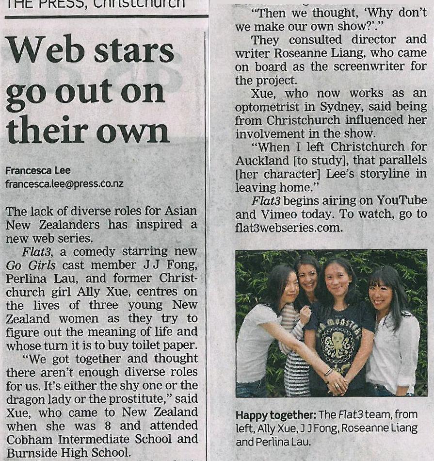 The Press, 23rd Feb 2013
