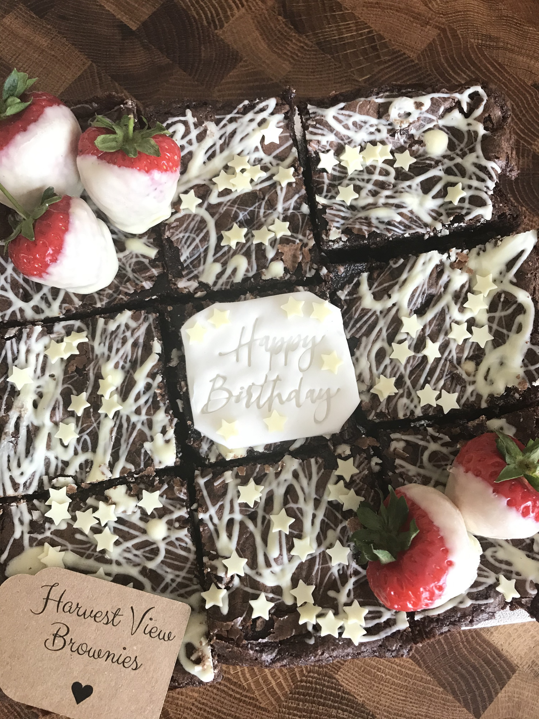 Small Brownie Slab