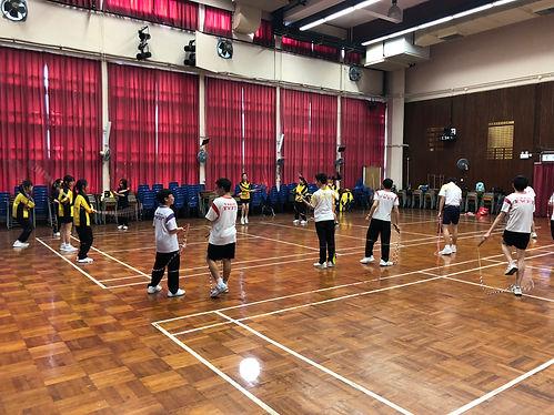 花式跳繩學校比賽班