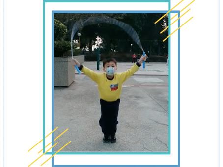 《學員👦🏻滿庭-疫情期間自行練習花式跳繩》