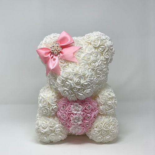 Medium Rose Bear