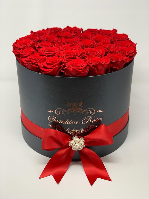 Medium Round Rose Box