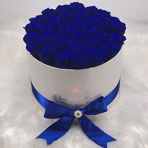 Medium Round Rose Box