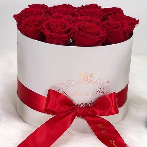 Medium Round Jumbo Roses Box