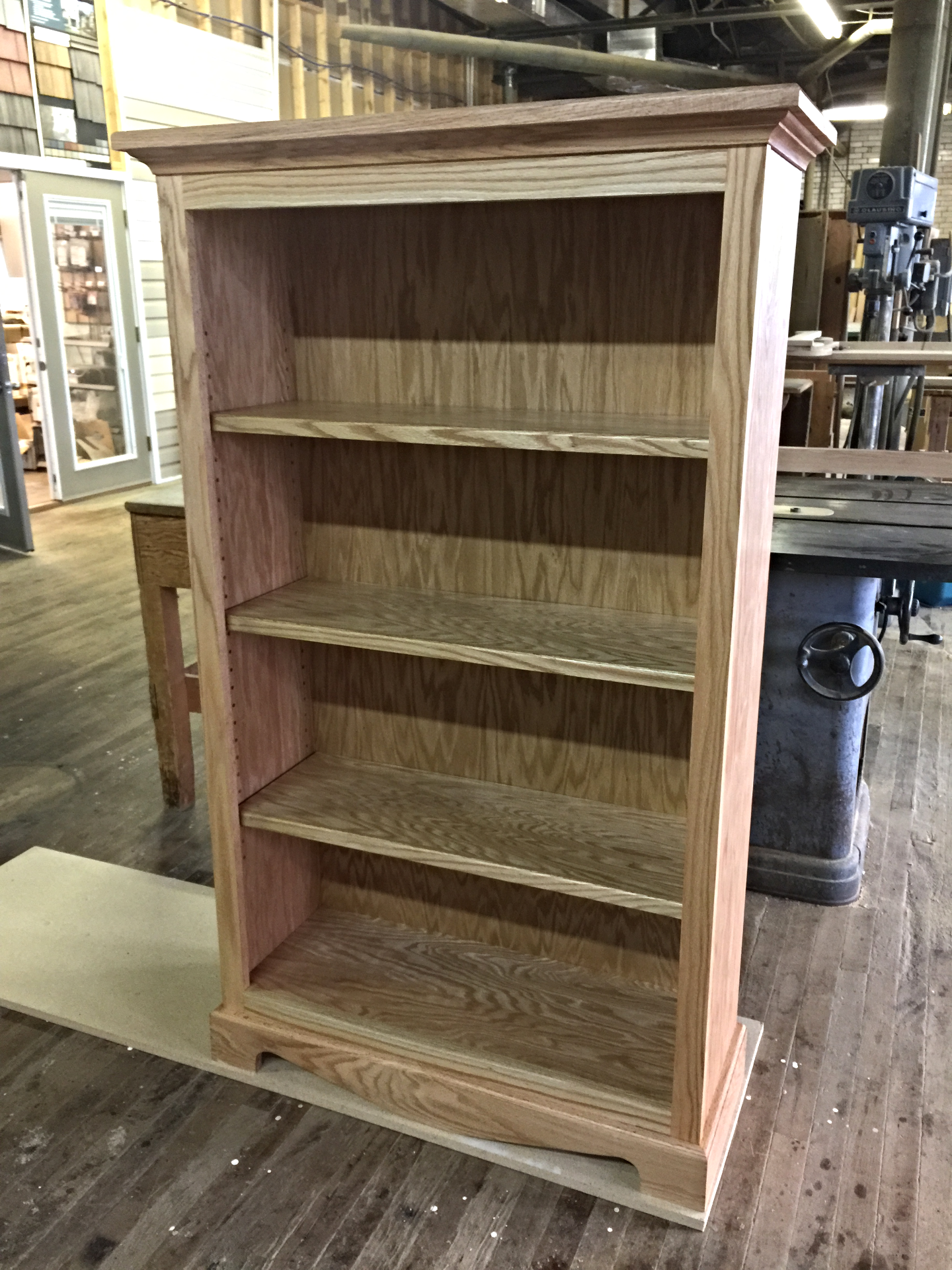 Oak Book Case