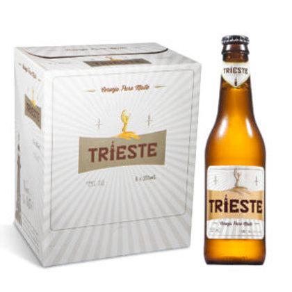 Cerveja Trieste Puro Malte – Caixa com 6 unidades – 355 mL