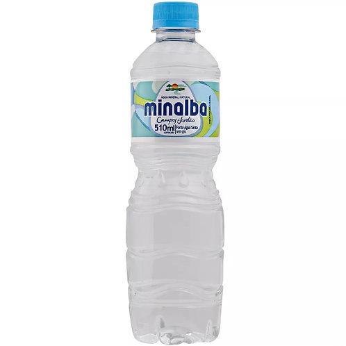 Água Mineral Minalba s/gás 510ml cx c/ 12un