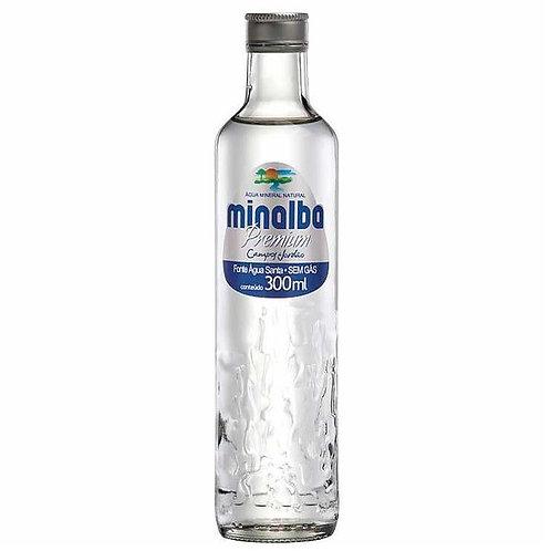 Água Mineral Minalba Premium s/gás 300ml cx c/ 12un