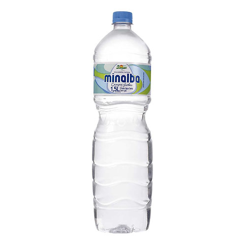 Água Mineral Minalba s/gás 1500ml cx c/ 06