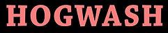 Hogwash - title:text - strip.jpg