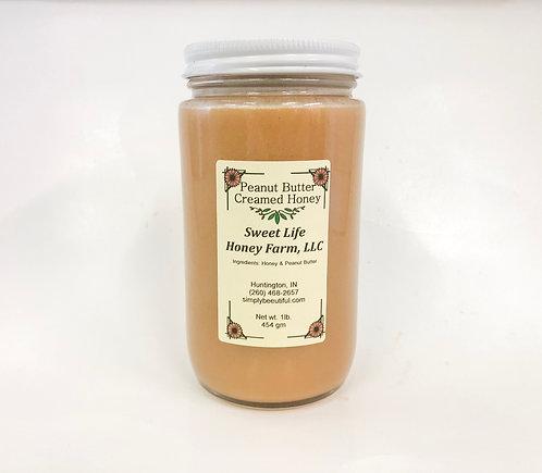 Peanut Butter Creamed Honey