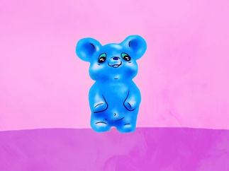 Spooky Gummy bear