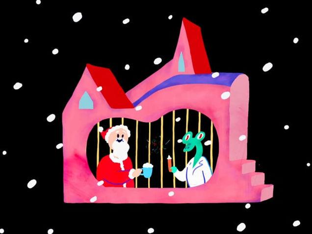 Santa and Frankenstein's Secret Christmas