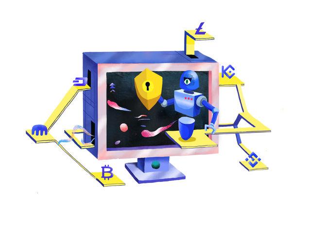 Robot illustration