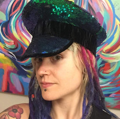 Sequin Festival Hat