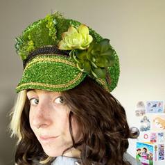 Succulent Festival Hat