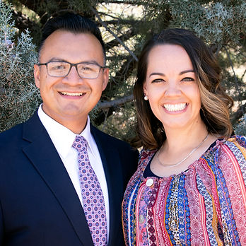 Pastor Jesse and Bethany Morales of The Potter's House in Prescott