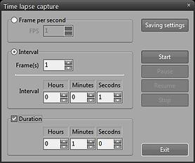 Time lanpse