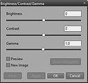 Brightness/Contrast/Gamma