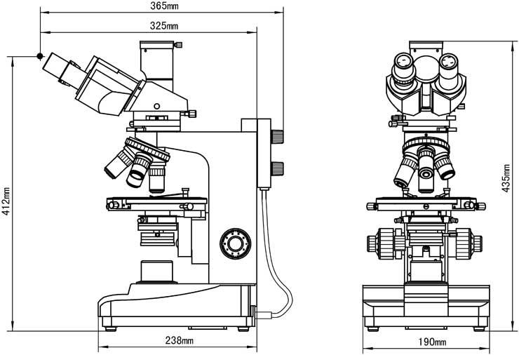 XPL-1530 dimensions