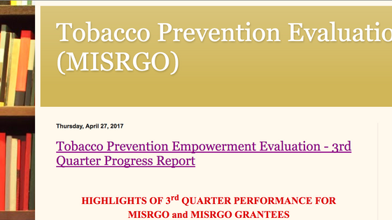 Tobacco Prevention Blog
