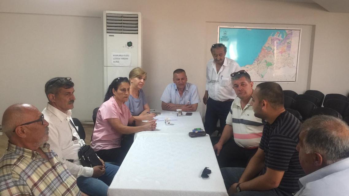 İzmir Muhtarlar Birliği Toplantsı