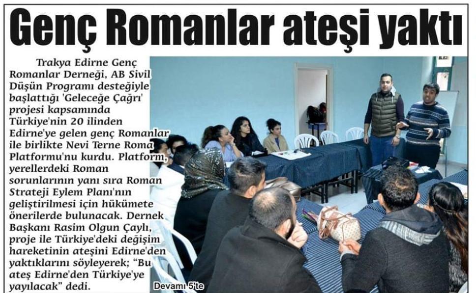 Neve Terne Roma Toplantısı