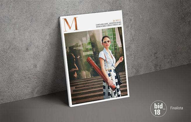 Magazine M finalista bienal de madrid