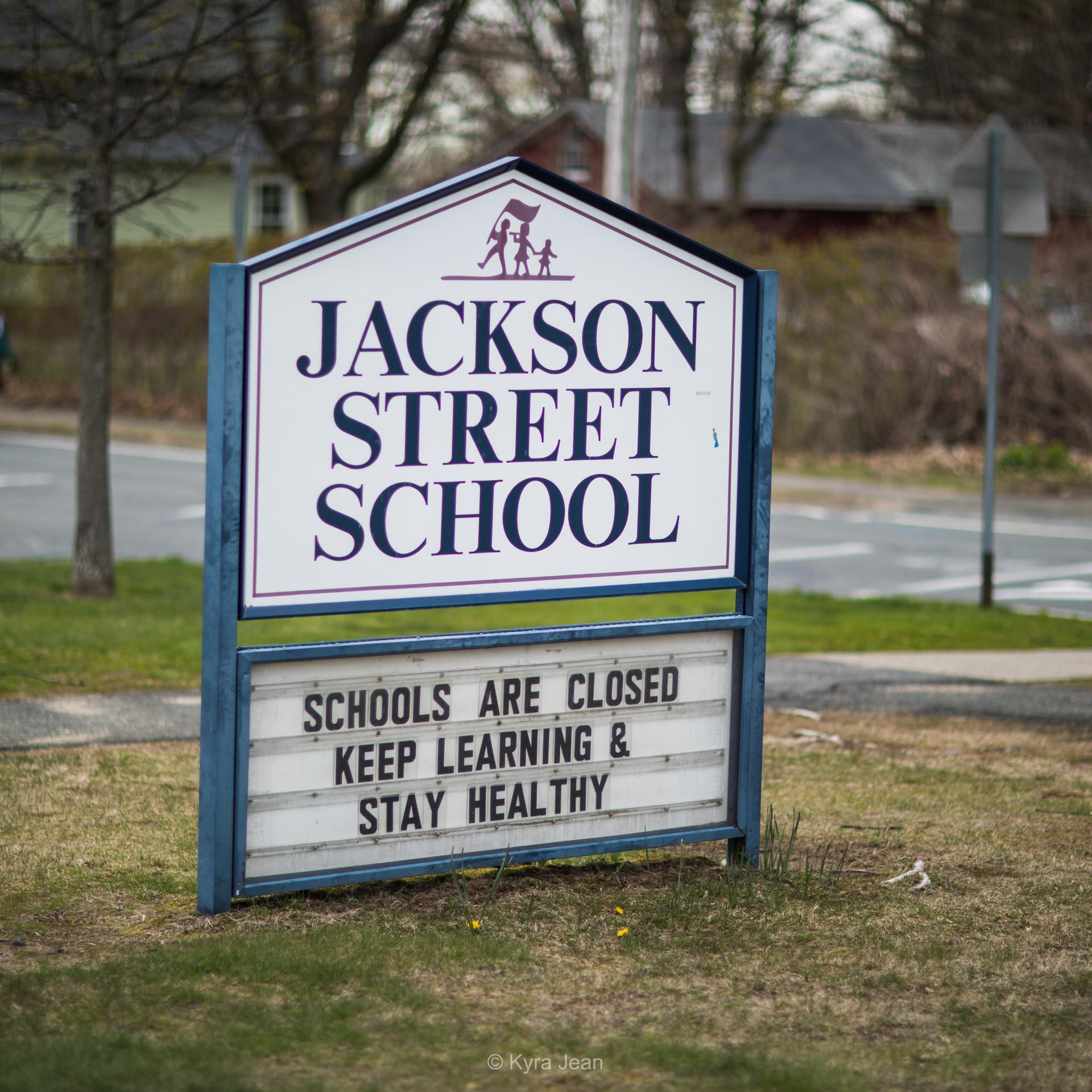 Schools are closed
