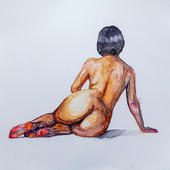Female Figure studies no.1