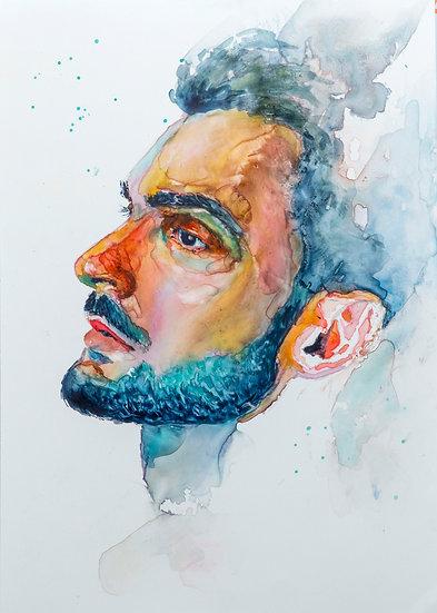 Male Portrait studies no.1