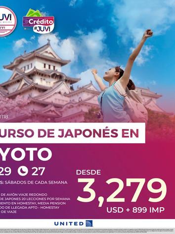 CURSO DE JAPONÉS EN KYOTO