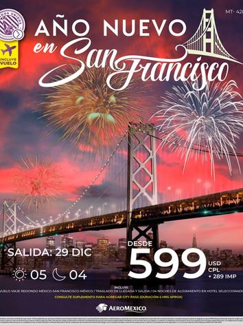 Año nuevo en San Francisco