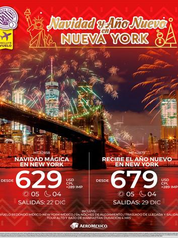 NAVIDAD Y AÑO NUEVO EN NUEVA YORK