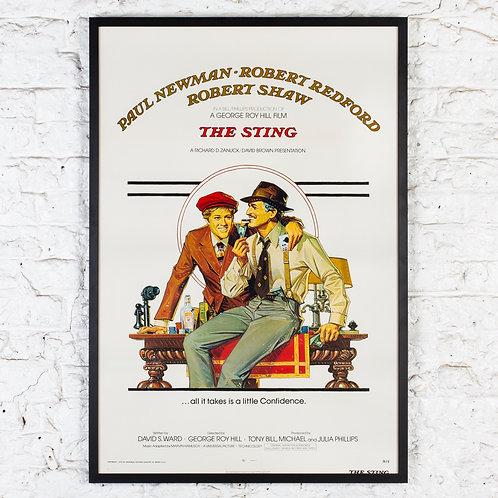 THE STING - ORIGINAL US ONE SHEET FILM POSTER