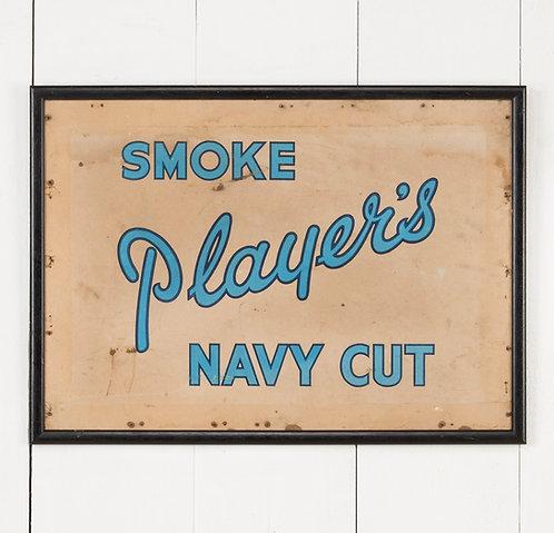 FRAMED PLAYER'S CIGARETTES PACKAGING