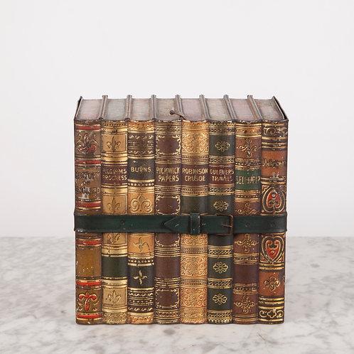 HUNTLEY & PALMERS 'LITERATURE' BOOK BISCUIT TIN