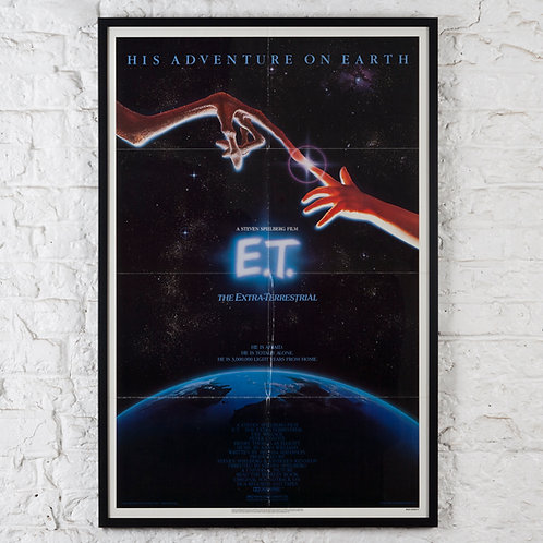 E.T. THE EXTRA-TERRESTRIAL - ORIGINAL US ONE-SHEET POSTER