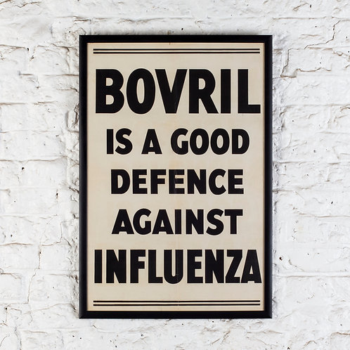 EARLY 20TH C. BOVRIL ADVERTISING POSTER