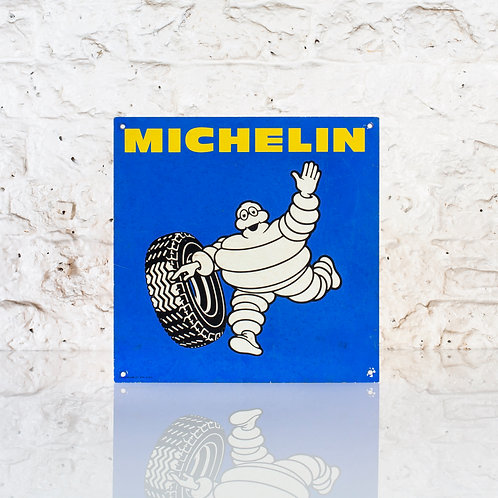 SMALL VINTAGE TIN MICHELIN TYRES SIGN